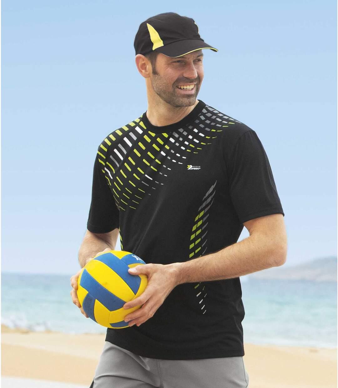 2darabos, nyomtatott mintás sport póló szett