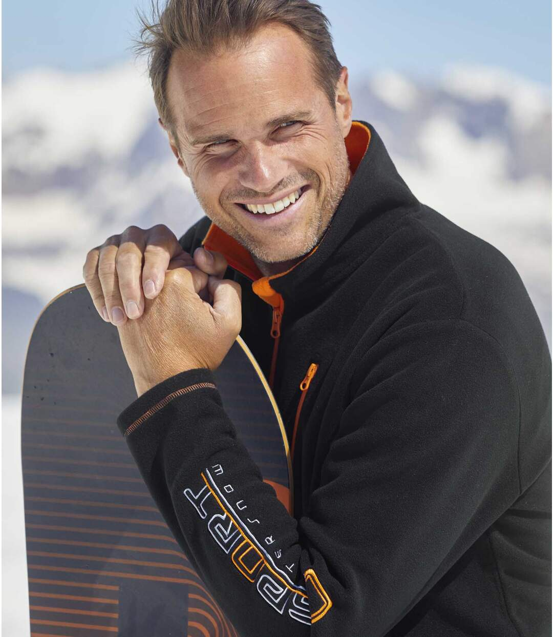 Fleecová mikina Snow Sport