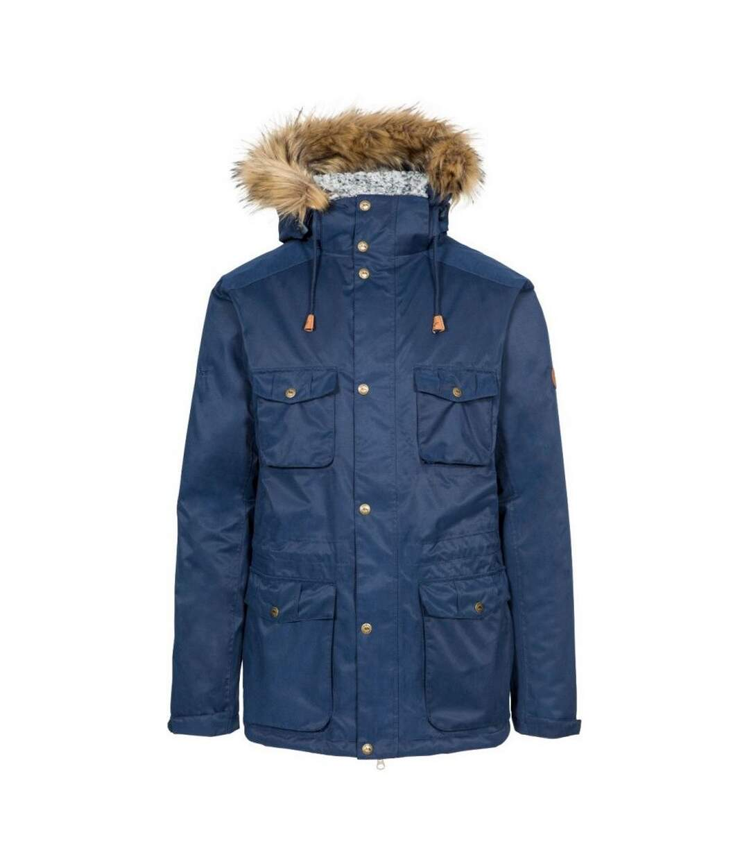 Trespass Mens Quebeckford Waterproof Jacket (Navy) - UTTP5249