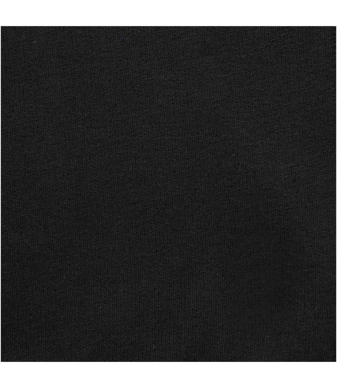 Elevate Mens Arora Hooded Full Zip Sweater (Solid Black) - UTPF1850