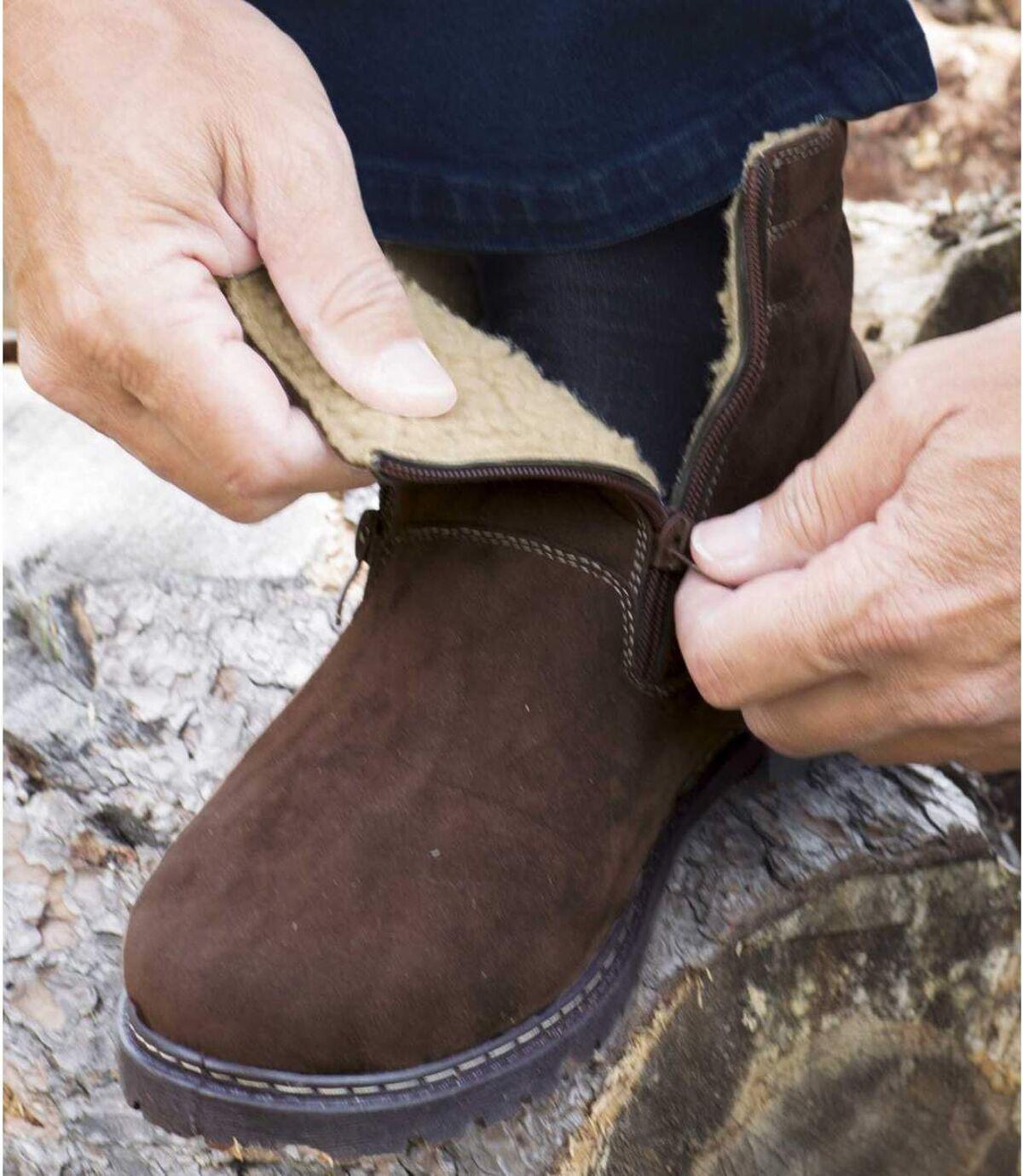 Ocieplane, wysokie buty na każdy teren Atlas For Men