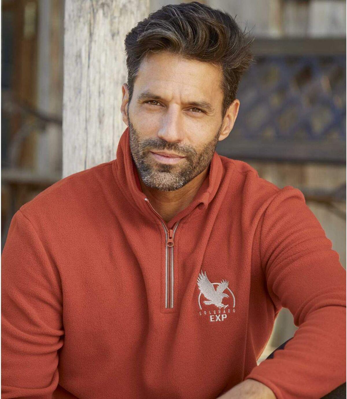 Zestaw 3 swetrów z polaru Eagle Star Atlas For Men