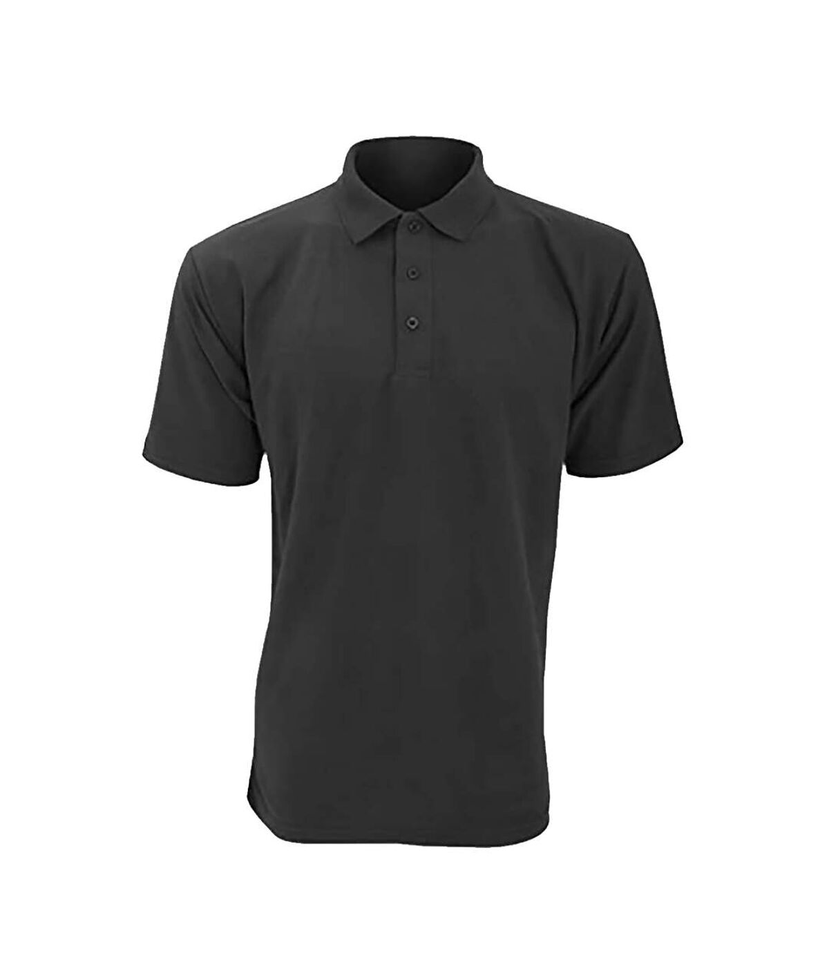 UCC 50/50 Mens Heavyweight Plain Pique Short Sleeve Polo Shirt (Charcoal) - UTBC1195