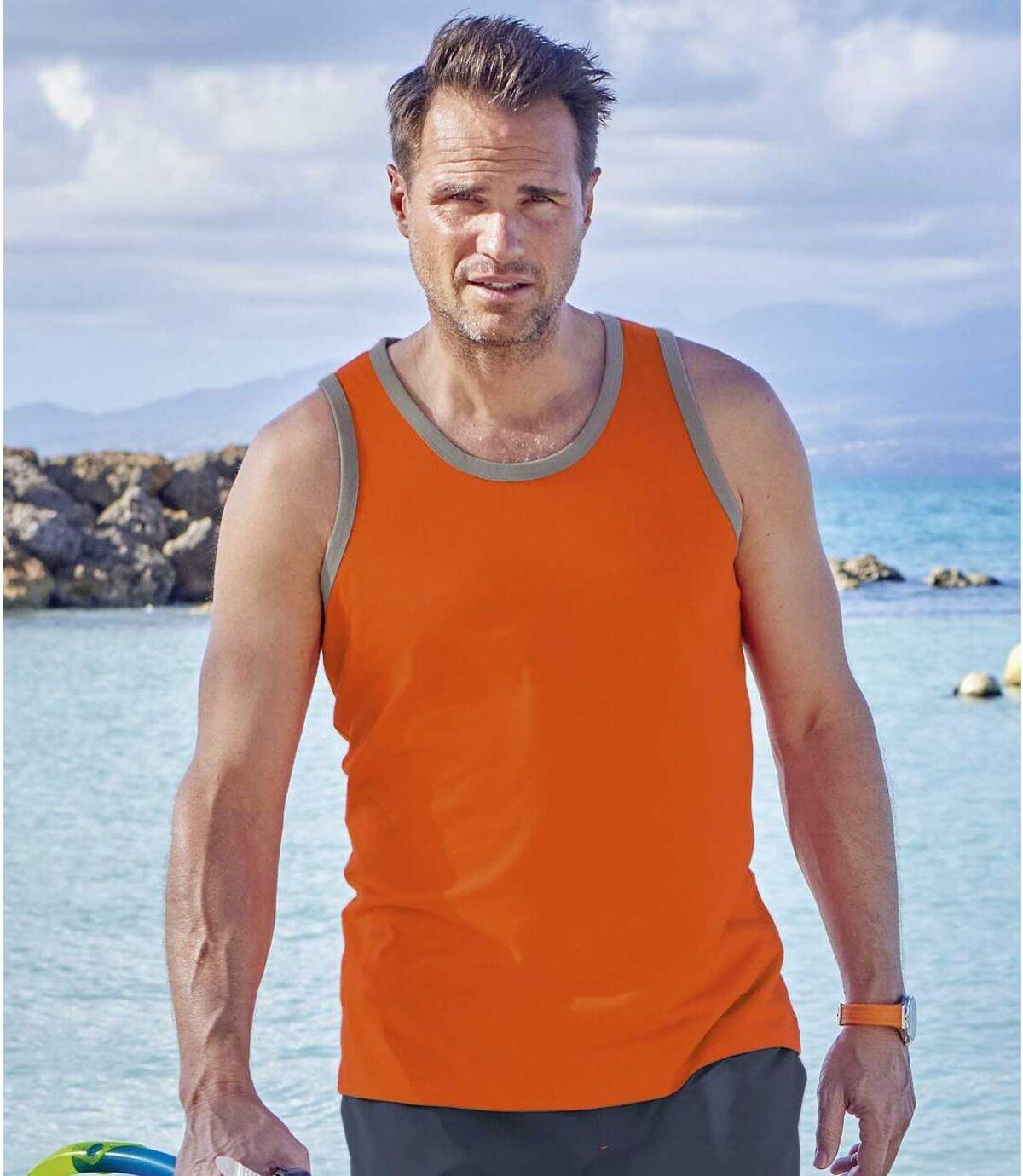 Sada 3 sportovních tílek Beach Sport Atlas For Men