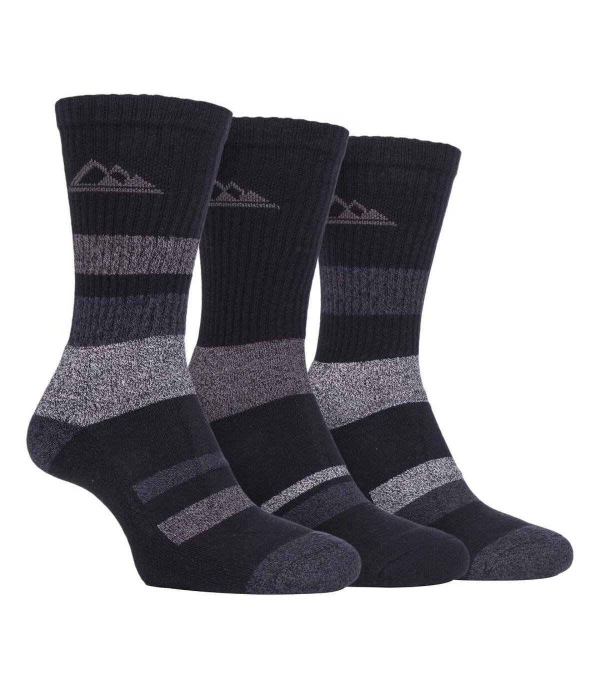 3 Pack Mens Lightweight Cotton Hiking Socks
