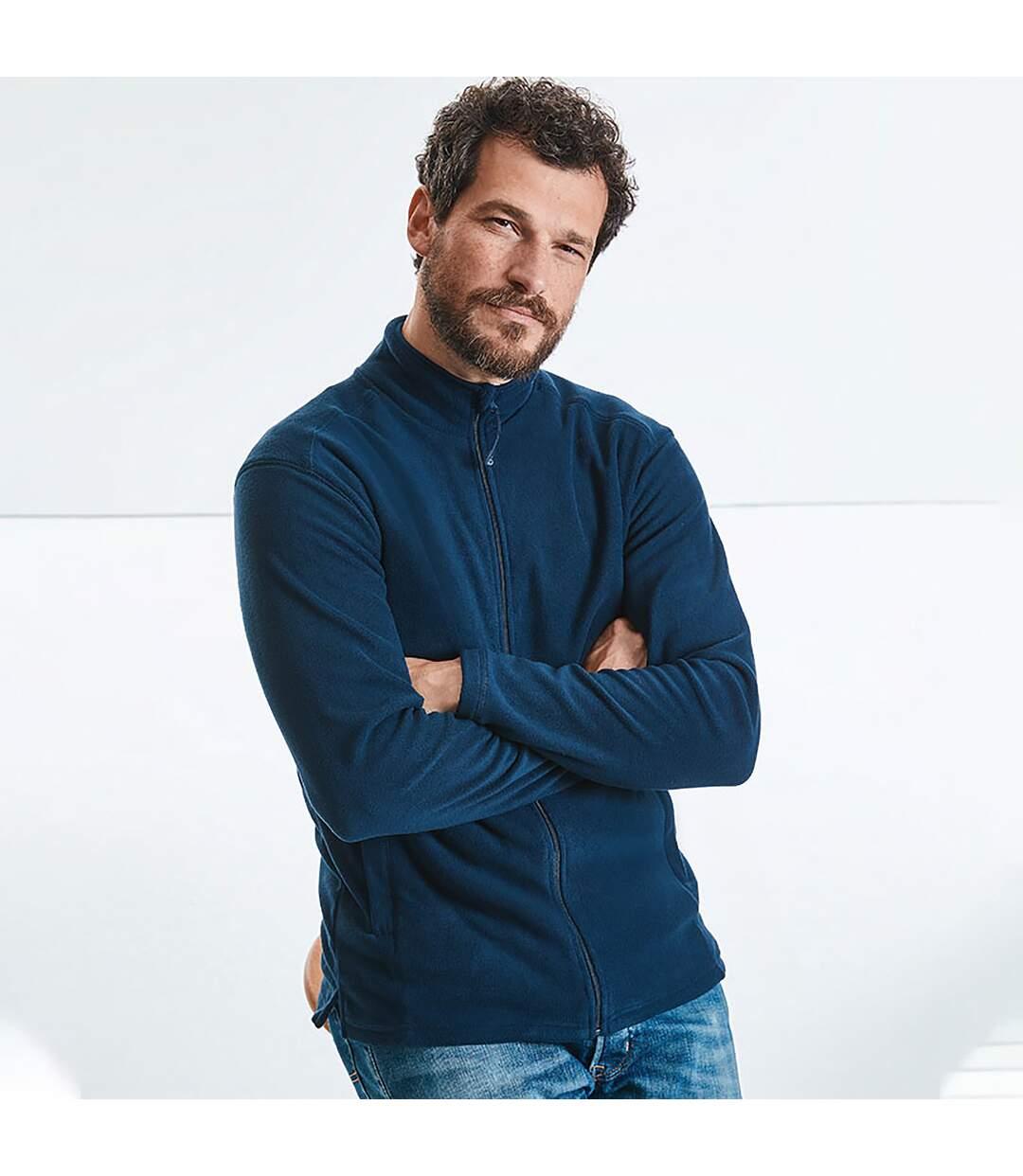 Russell Europe - Veste polaire à fermeture zippée - Homme (Rouge classique) - UTRW3282