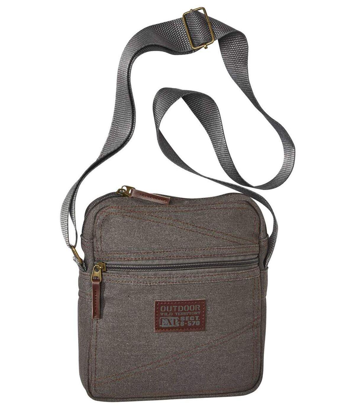 Stylish Men's Holster Bag - Grey Atlas For Men
