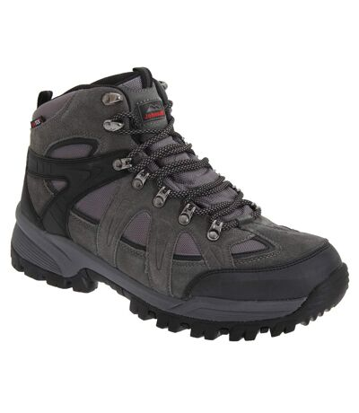 Johnscliffe Mens Andes Hiking Boots (Charcoal Grey) - UTDF726