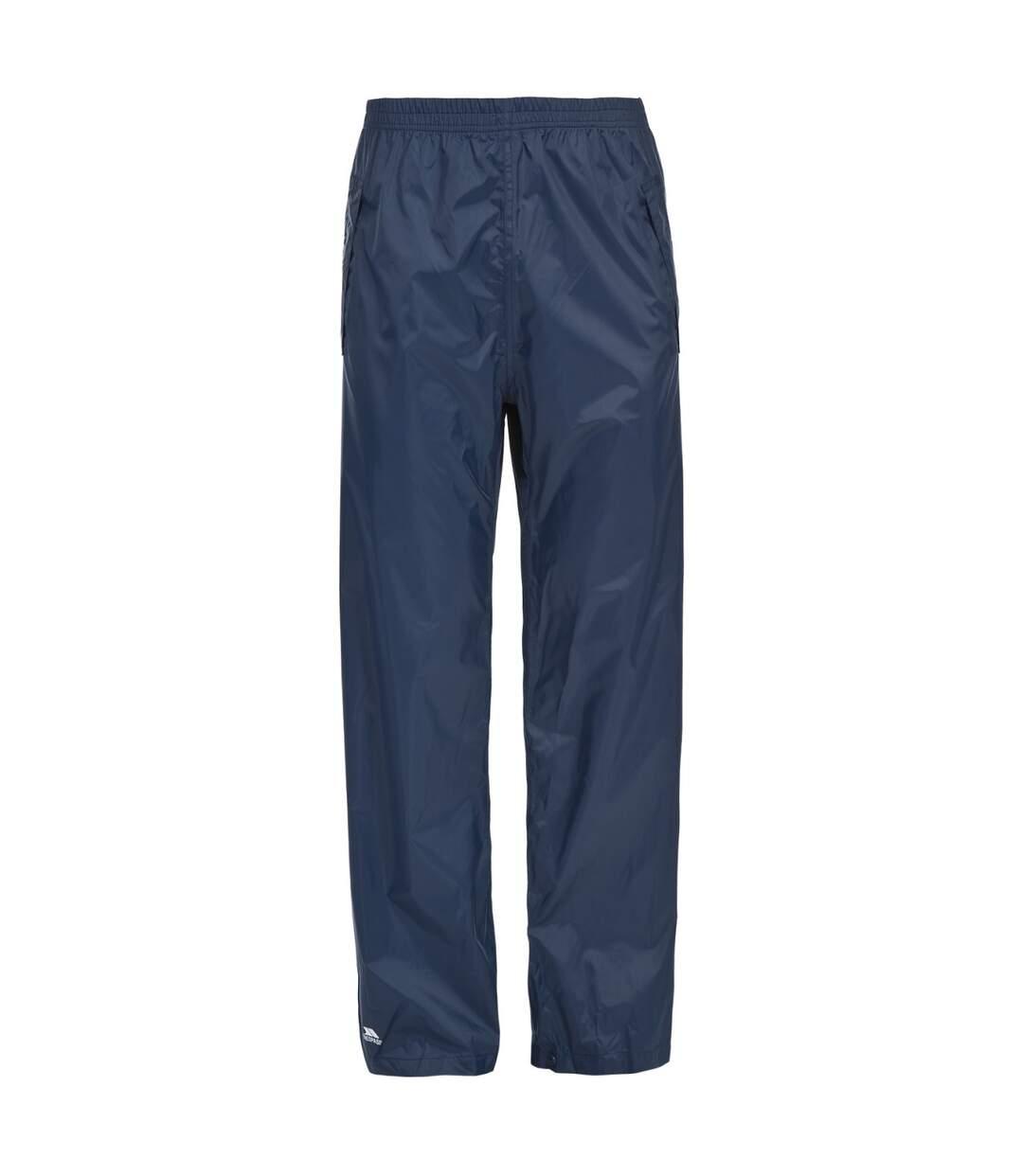 Trespass Adults Unisex Packup Trouser Waterproof Packaway Trousers (Navy) - UTTP1335