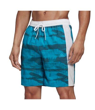 Short de bain Bleu Homme Adidas 3S GR CLX