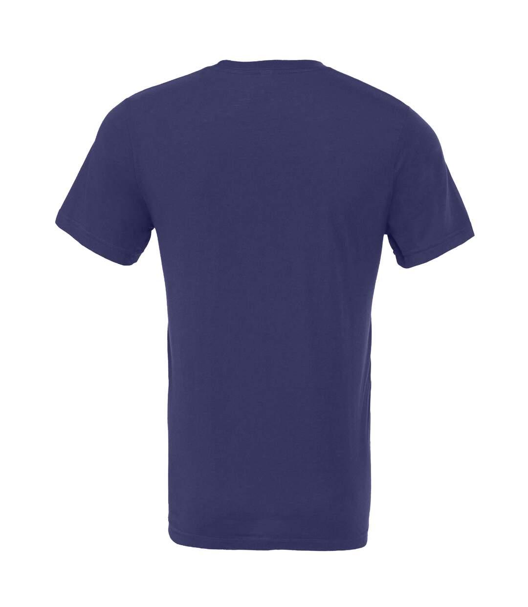 Canvas Unisex Jersey Crew Neck T-Shirt / Mens Short Sleeve T-Shirt (Navy Blue) - UTBC163