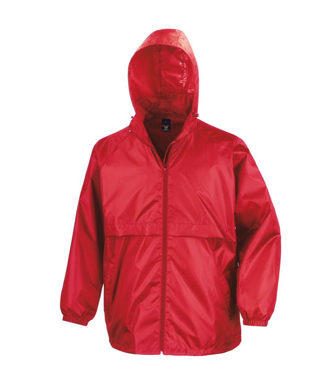 Result Mens Core Lightweight Waterproof Shield Windproof Jacket (Red) - UTBC898