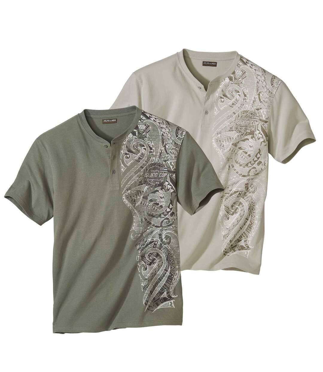 Set van 2 Maori Spirit T-shirts