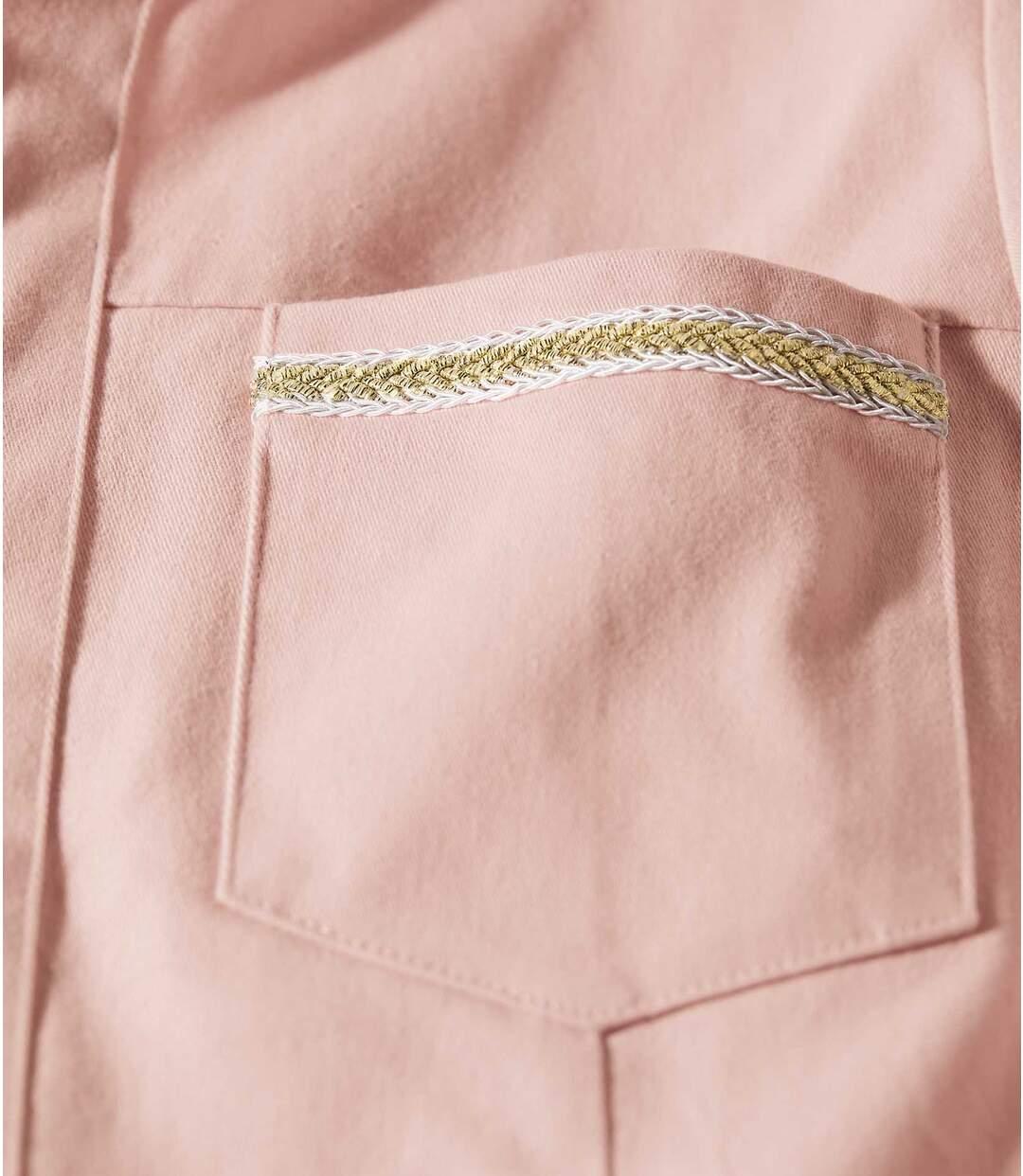 Letní bunda ze strečové bavlny