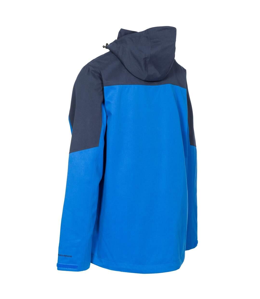 Trespass Mens Danson Waterproof Jacket (Blue) - UTTP4597