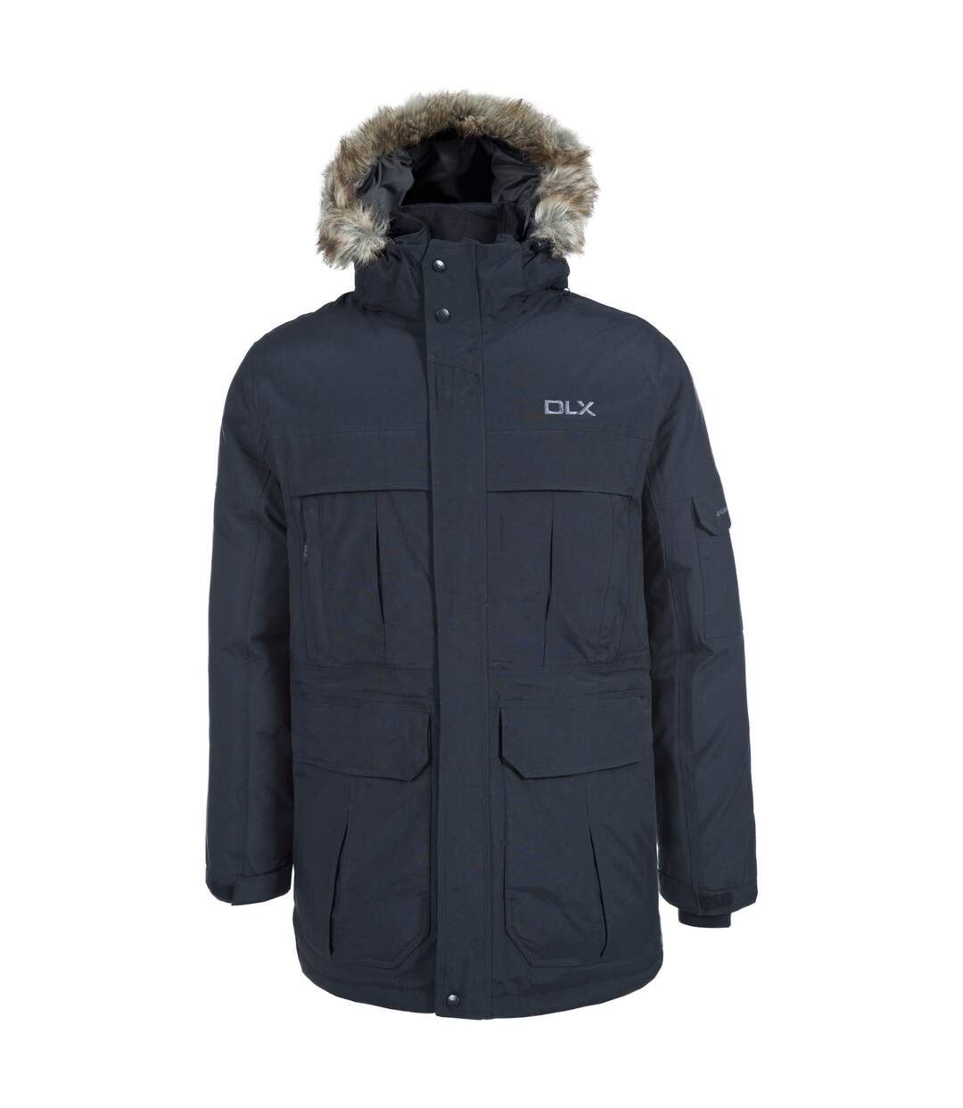 Trespass Mens Highland Waterproof Parka Jacket (Khaki) - UTTP1304