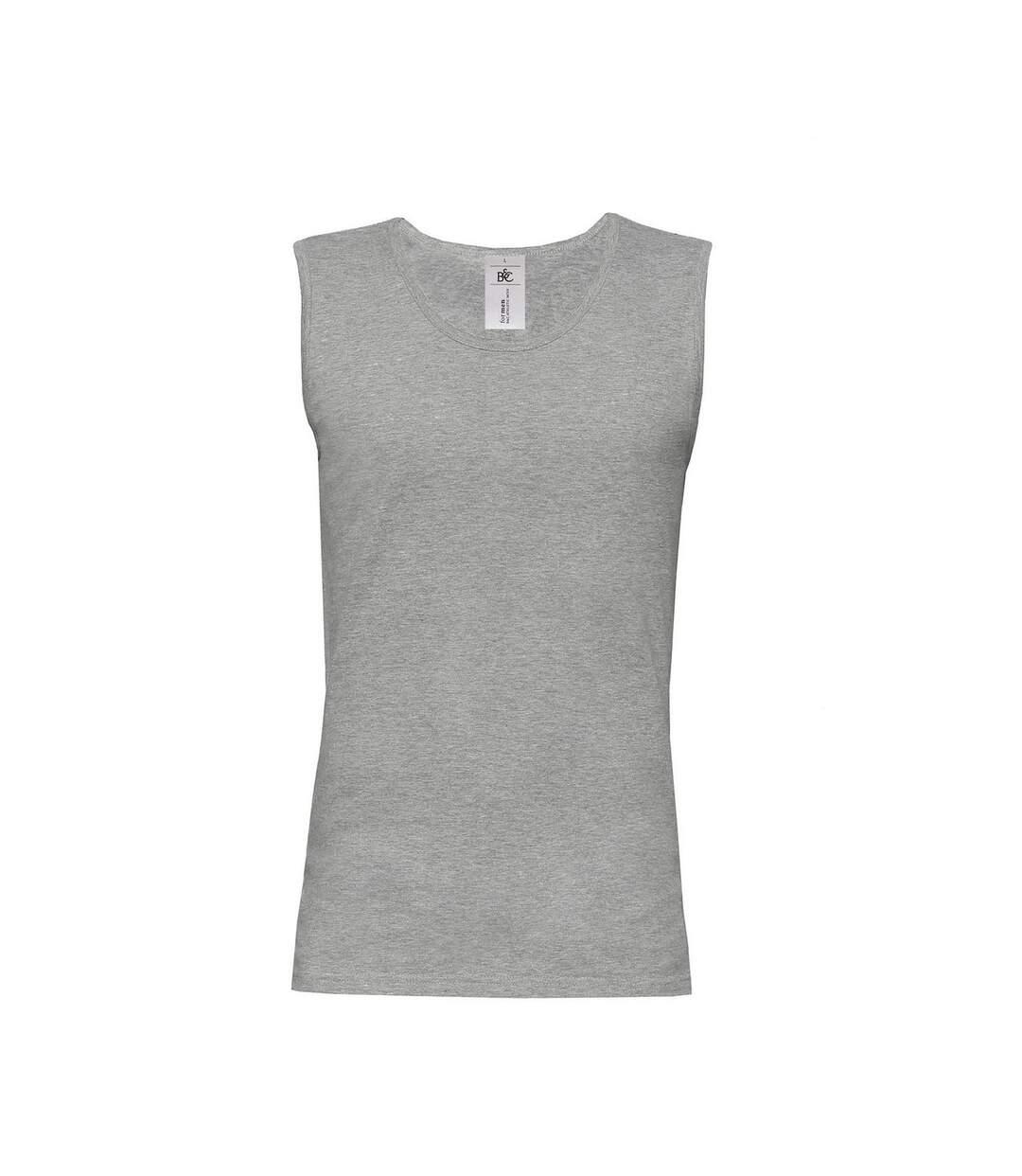 B&C Mens Move Sleeveless Athletic Sports Vest Top (Navy) - UTRW3499