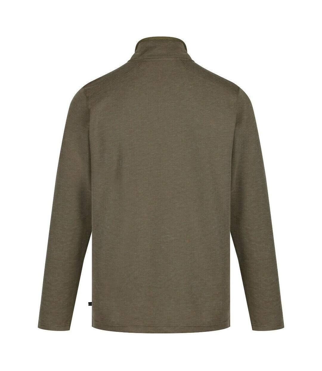 Regatta Mens Tarian Half Zip Fleece (Grape Leaf) - UTRG4185