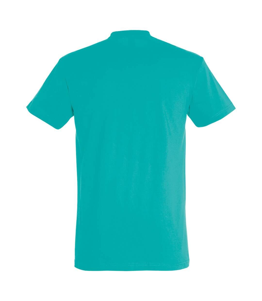 SOLS Mens Imperial Heavyweight Short Sleeve T-Shirt (Caribbean Blue) - UTPC290