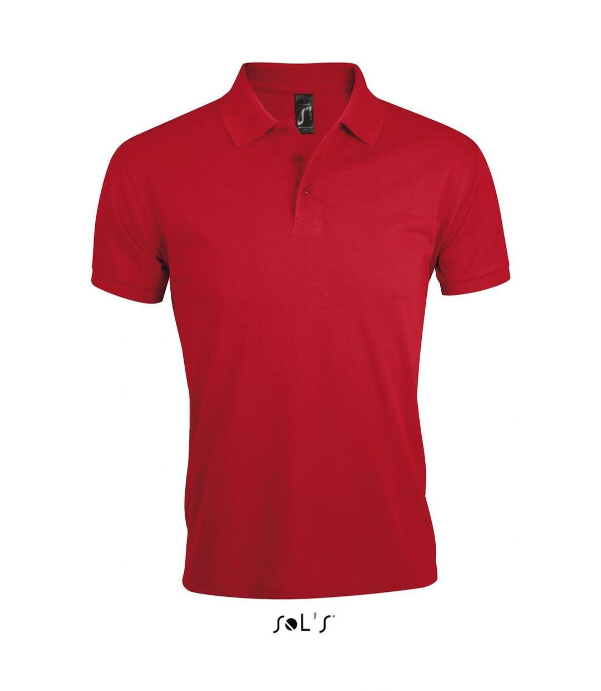 Polo homme polycoton - 00571 - rouge