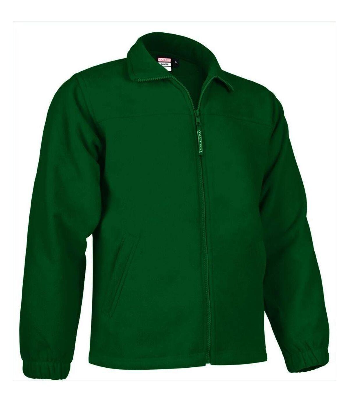 Veste polaire zippée - Homme - REF DAKOTA - vert bouteille