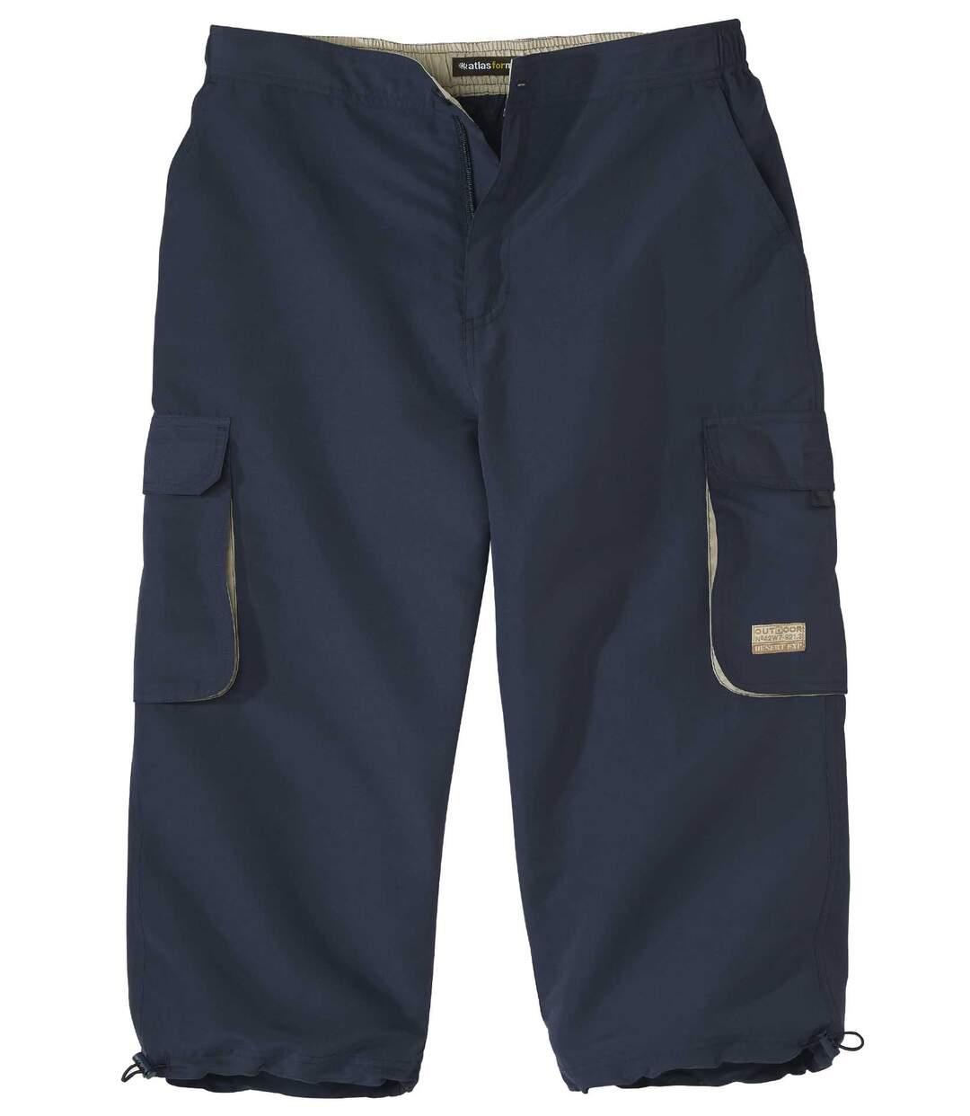 Trojštvrťové nohavice Cargo Navy Atlas For Men