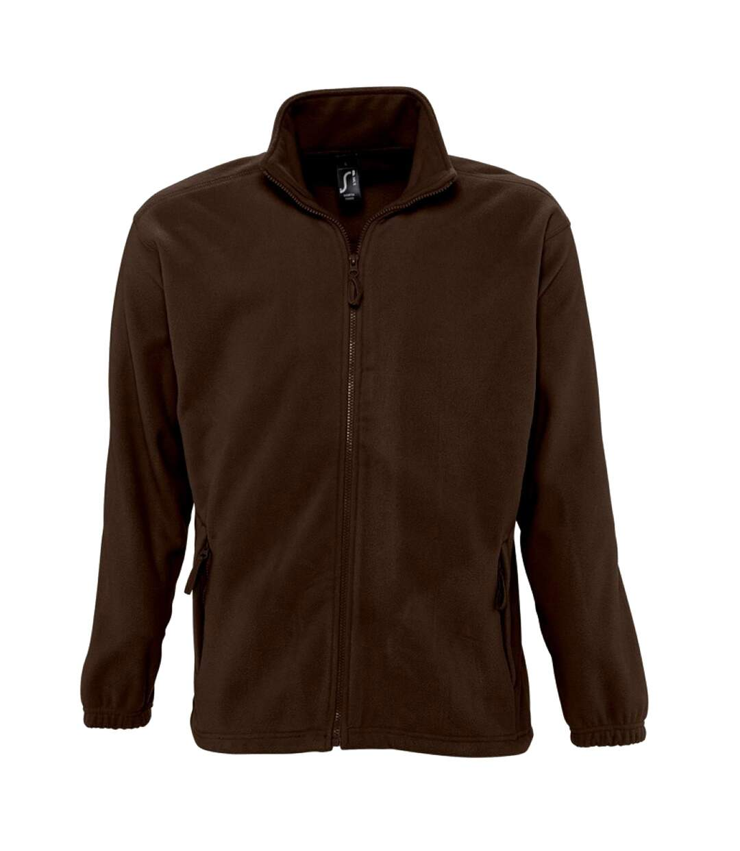 SOLS Mens North Full Zip Outdoor Fleece Jacket (Dark Chocolate) - UTPC343
