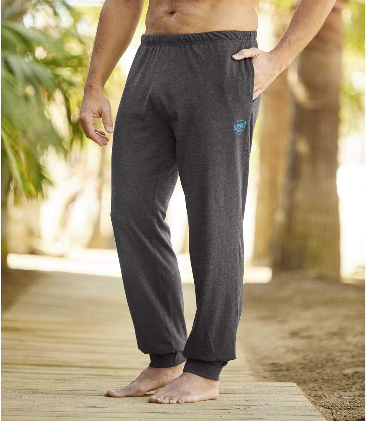 Men's Grey Lounge Pants Atlas For Men