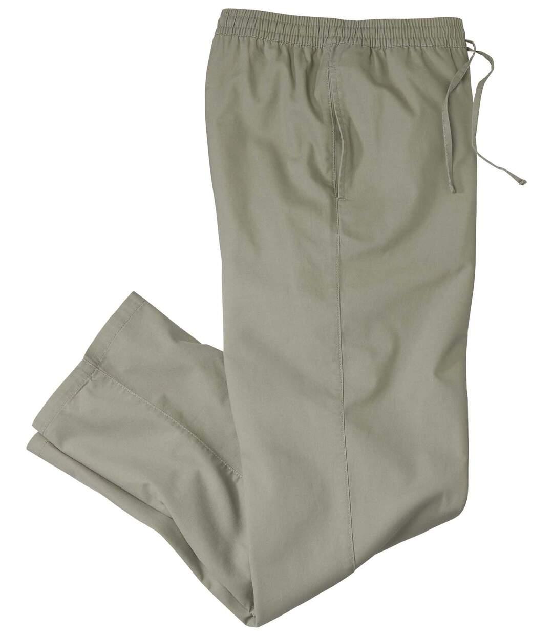 Wygodne, płócienne spodnie