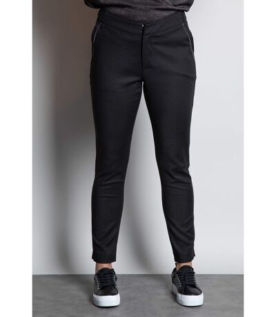 Pantalon droit noir PRIYA Black