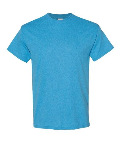 Gildan - T-shirt manches courtes - Homme (Orange chiné) - UTBC4807