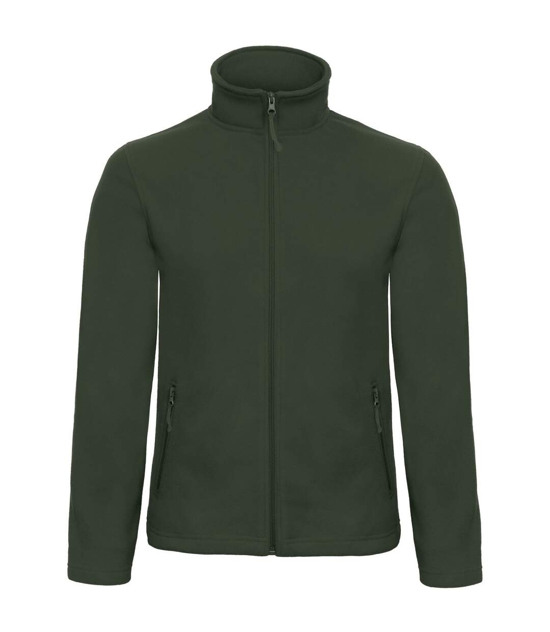 B&C Collection Mens ID 501 Microfleece Jacket (Forest Green) - UTRW3527