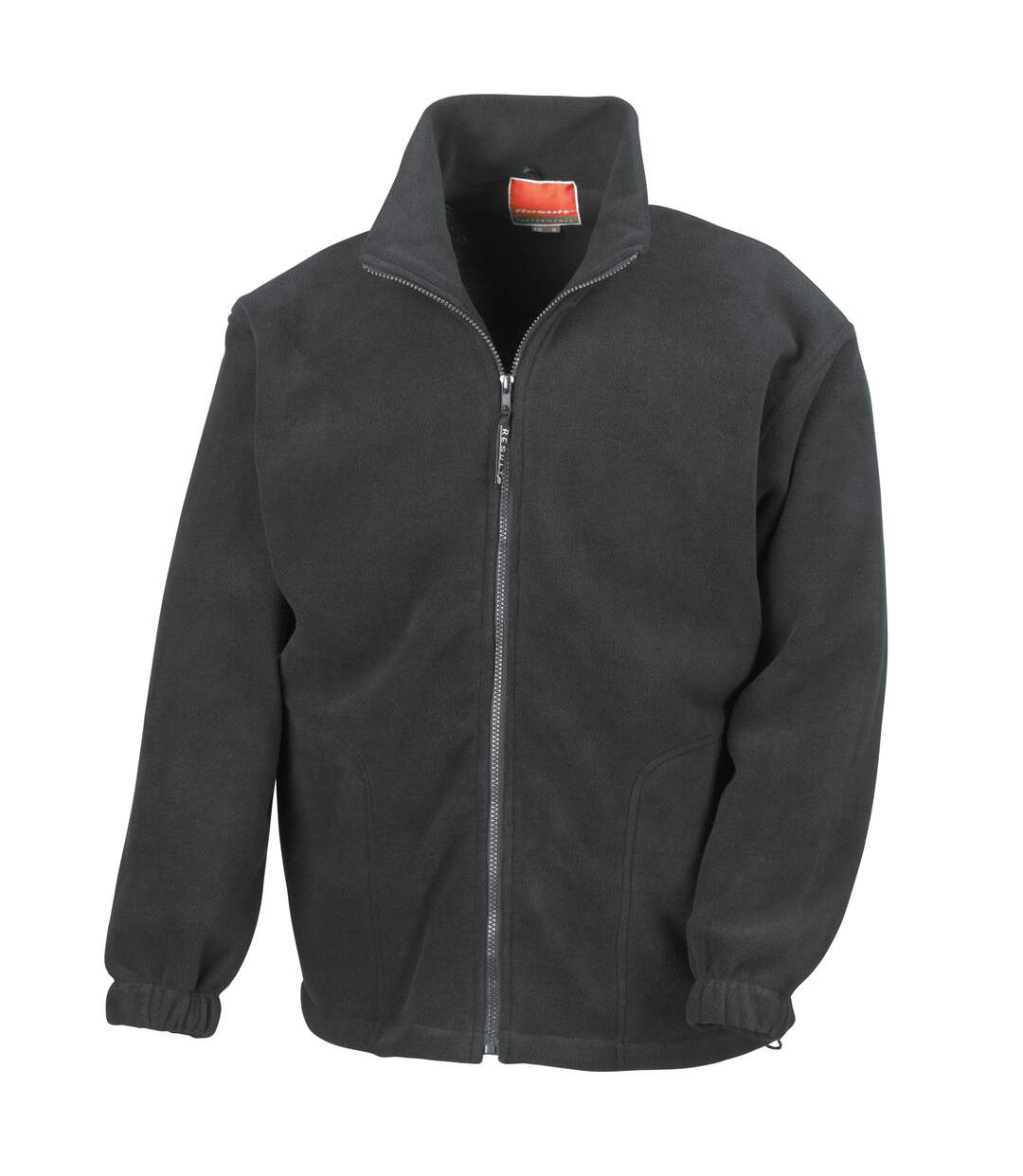 Result Mens Full Zip Active Fleece Anti Pilling Jacket (Black) - UTBC922