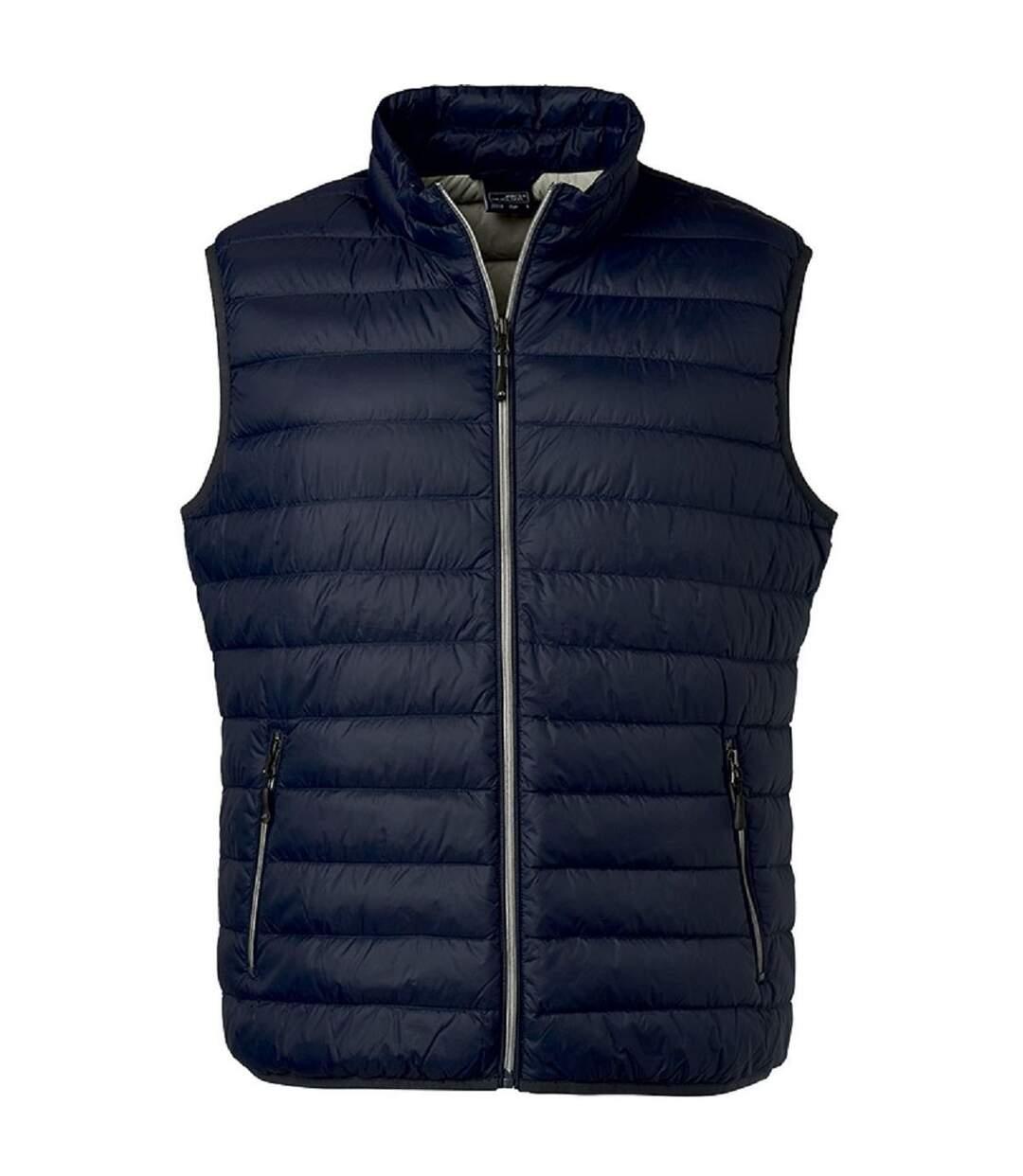 Bodywarmer duvet - JN1138 - bleu indigo - Homme
