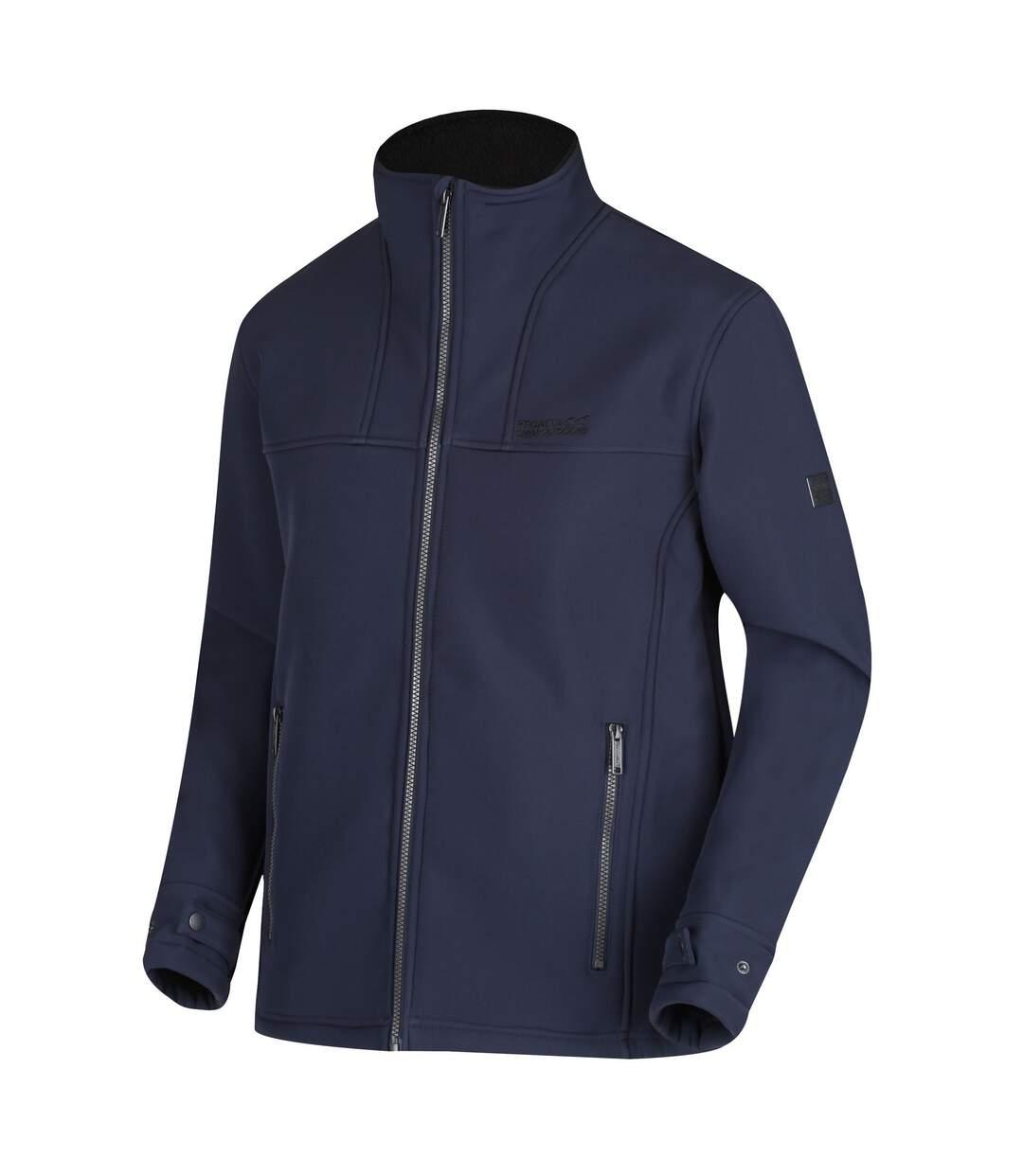 Regatta Mens Conlan Softshell Jacket (Navy/Black) - UTRG4524