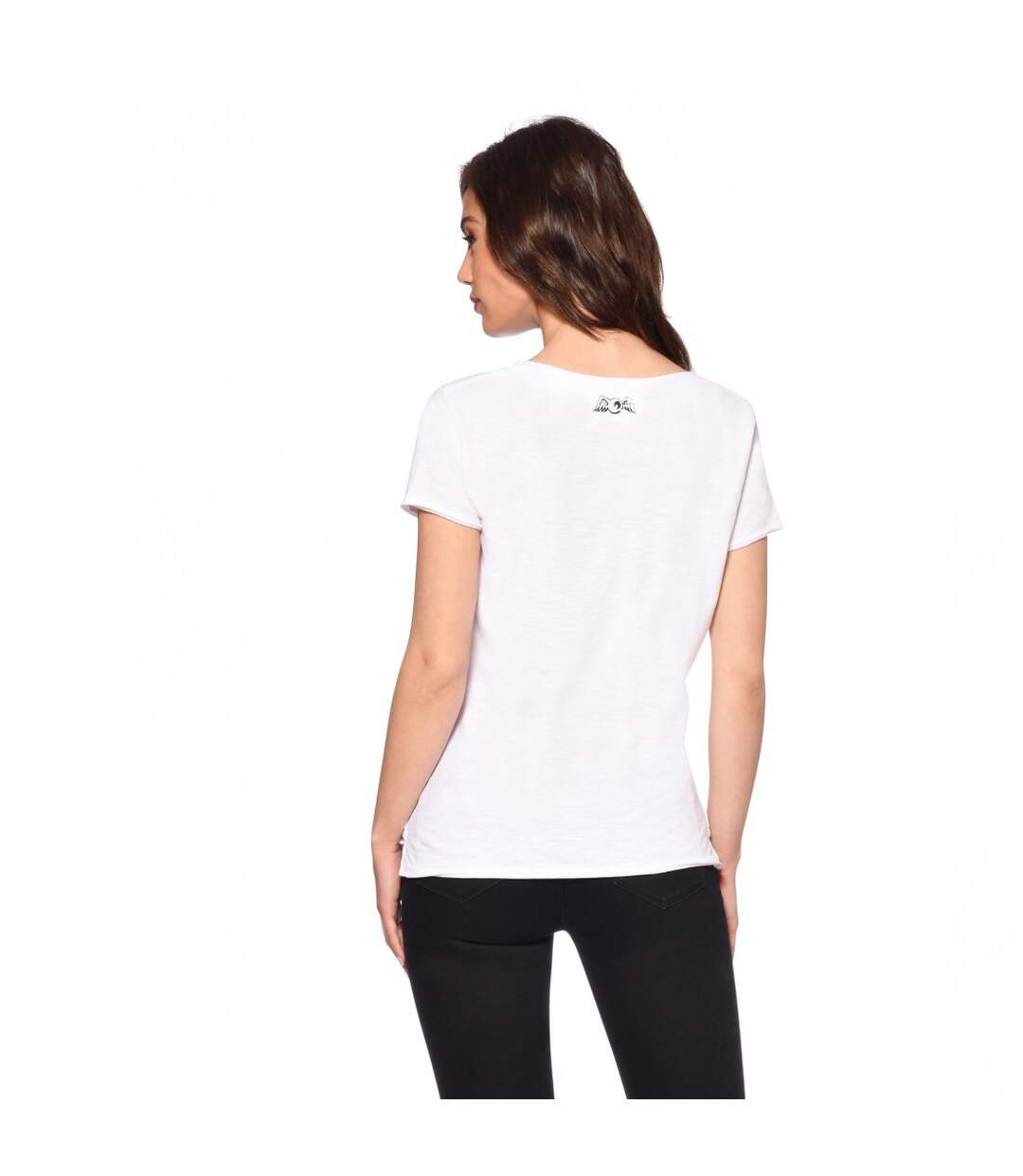 T-shirt femme Col V Love