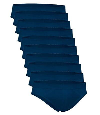 Lot 10 slips pour Homme - bleu - ZEUS