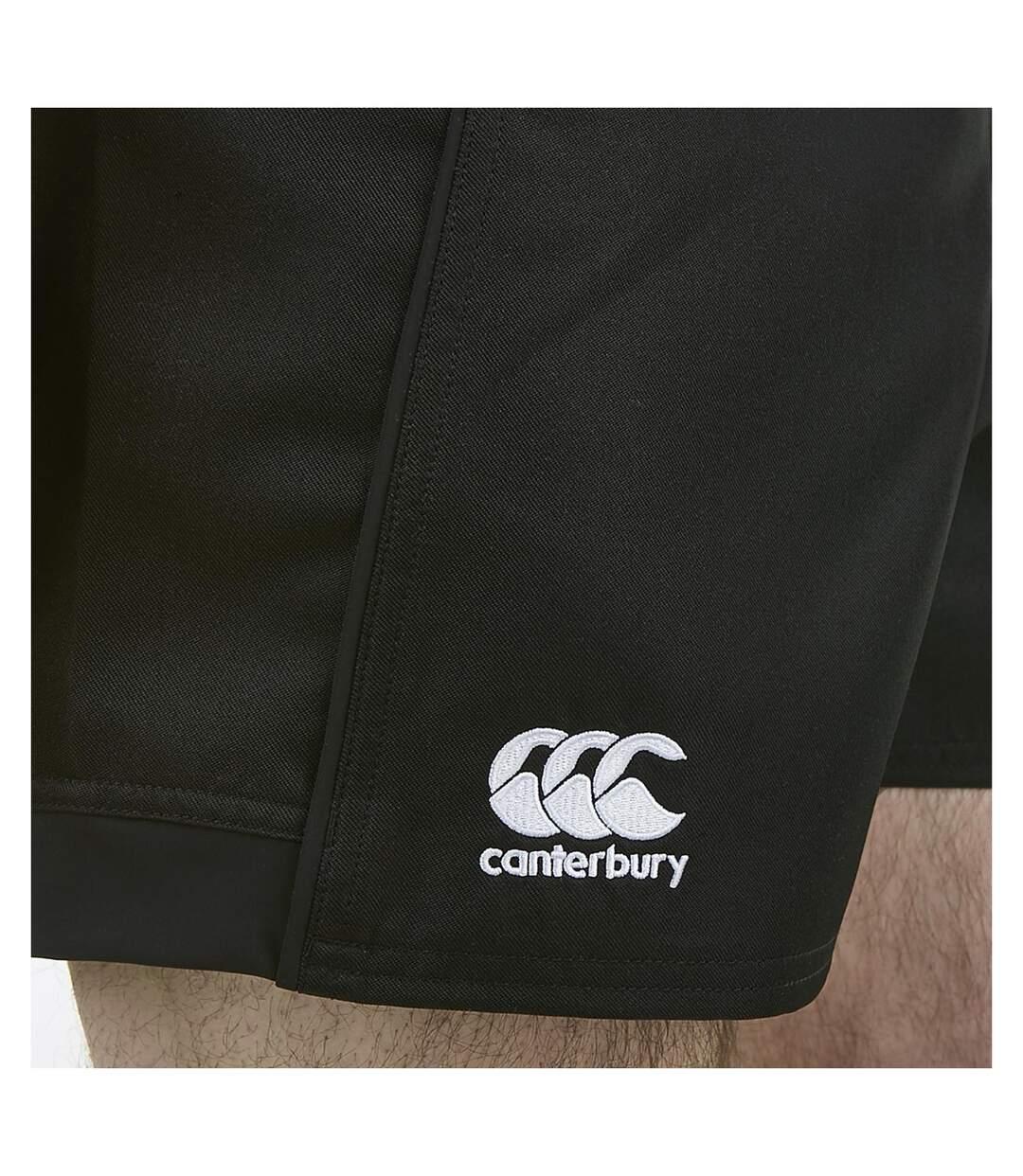Canterbury Mens Advantage Rugby Shorts (Black) - UTRD518