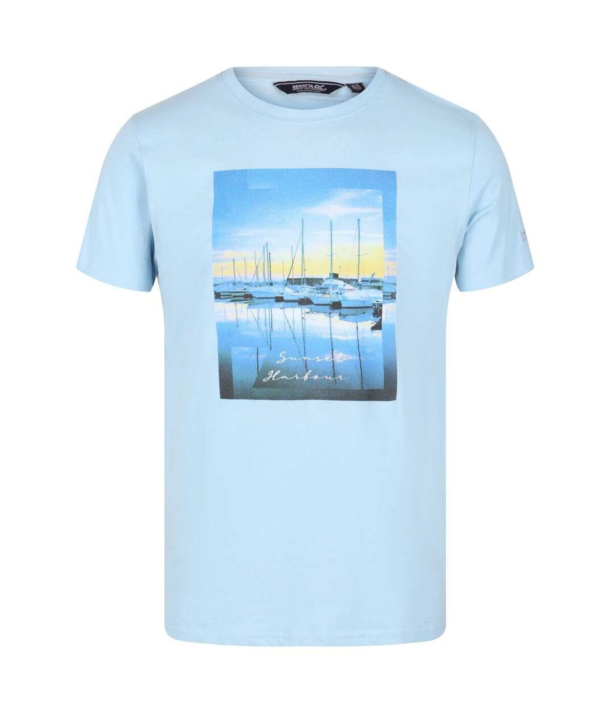 Regatta Mens Cline IV Graphic T-Shirt (Oat) - UTRG4920