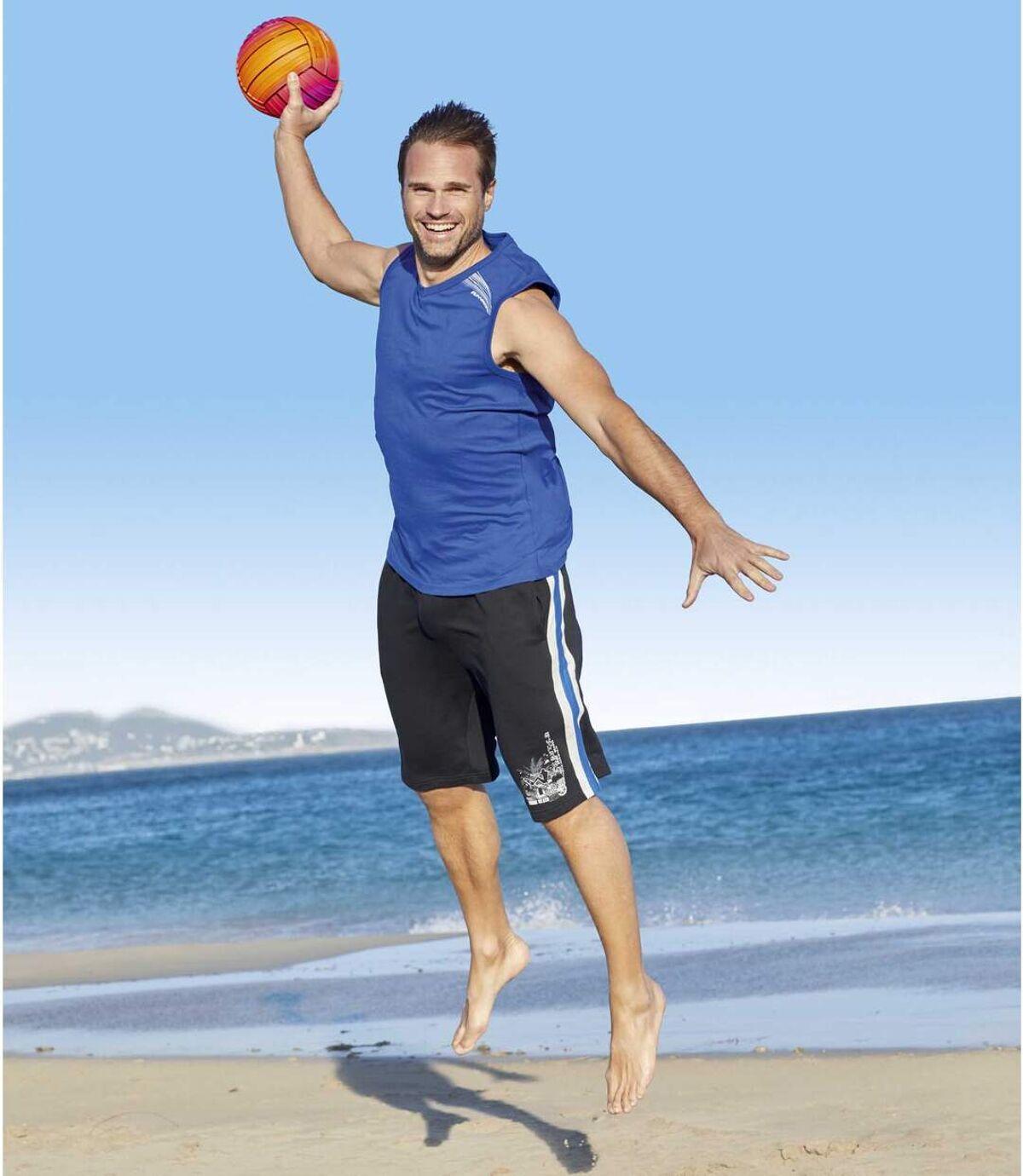 Bermuda Summer Sport aus Molton Atlas For Men