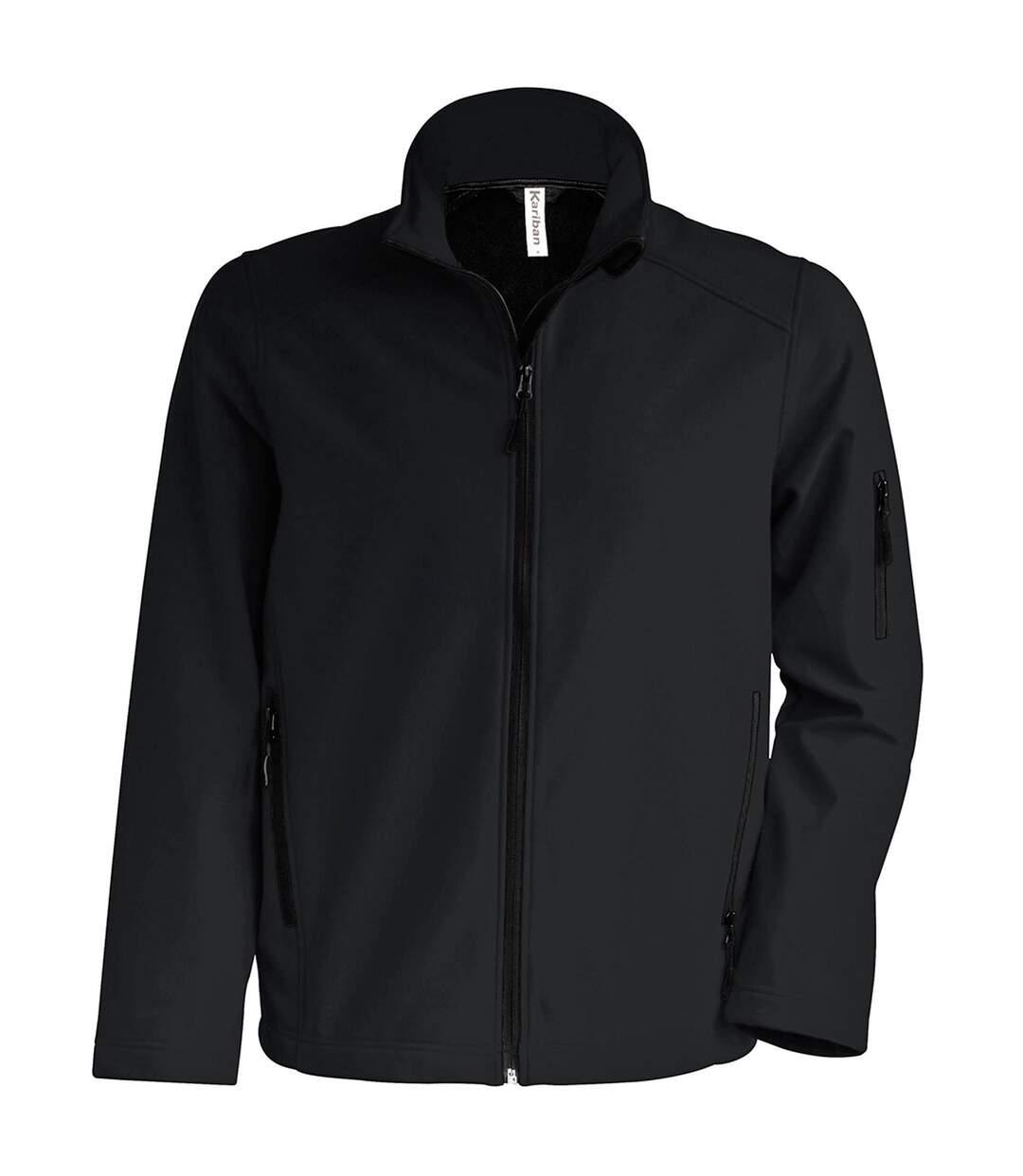 Kariban Mens Contemporary Softshell 3 Layer Performance Jacket (Black) - UTRW715