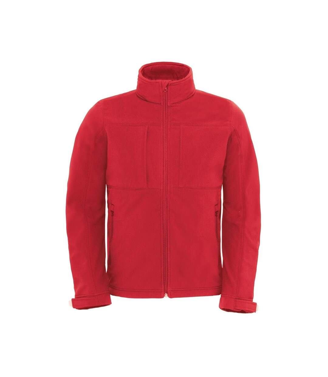 Veste softshell à capuche - hautes performances - JM950 - rouge - Homme