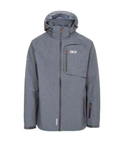 Trespass Mens Caspar II Waterproof Shell Jacket (Dark Grey Marl) - UTTP4066