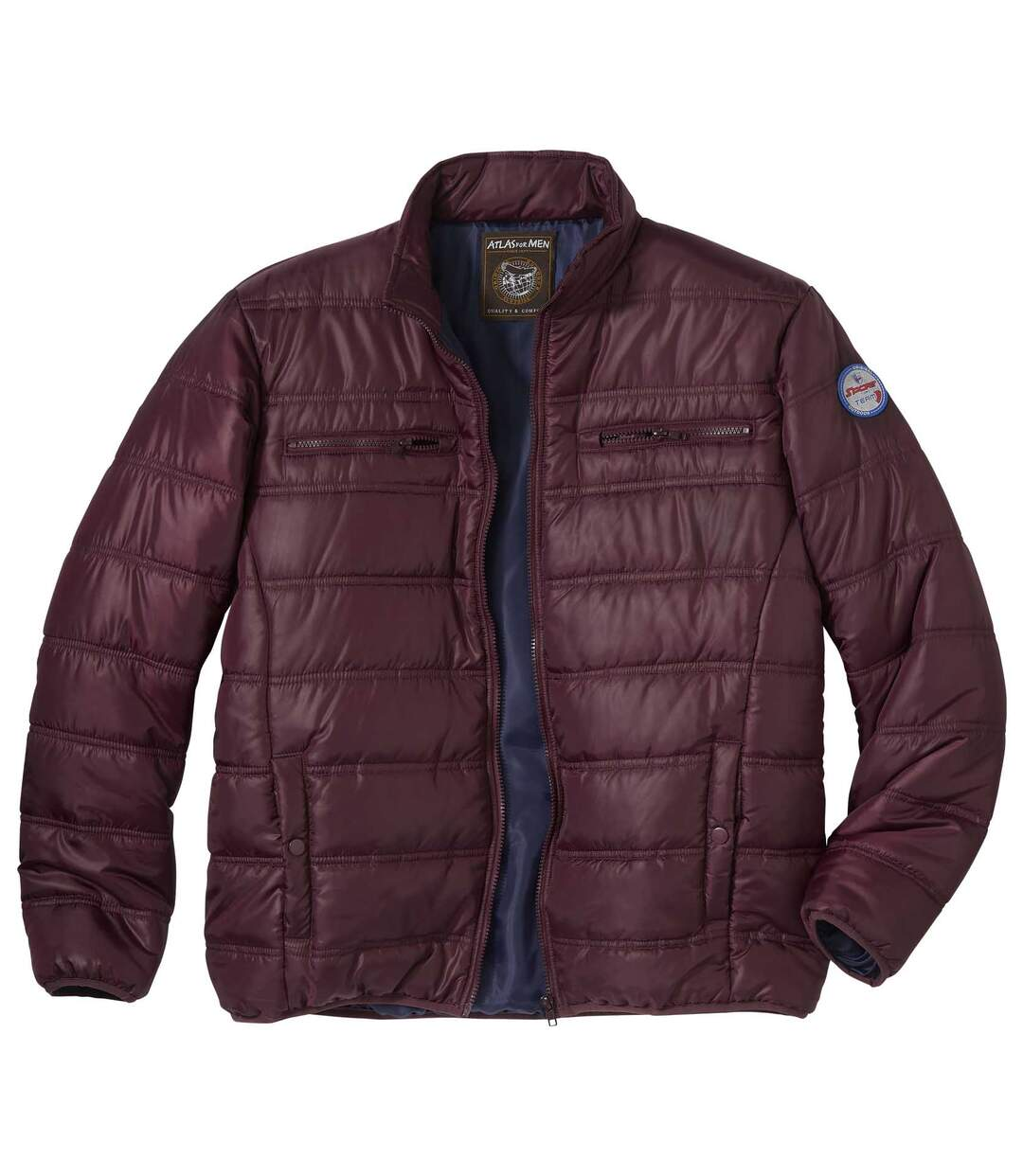 Men's Dark Red Original Outdoor Lightweight Puffer Jacket