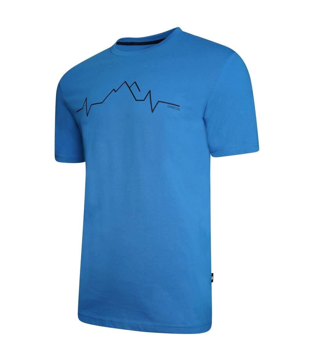 Dare 2B Mens Differentiate Graphic T-Shirt (Methyl Blue) - UTRG5020