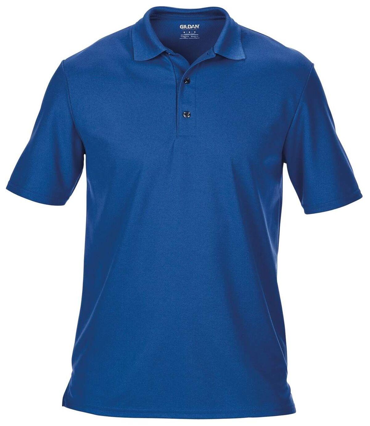Gildan Mens Performance Sport Double Pique Polo Shirt (Royal) - UTBC3188