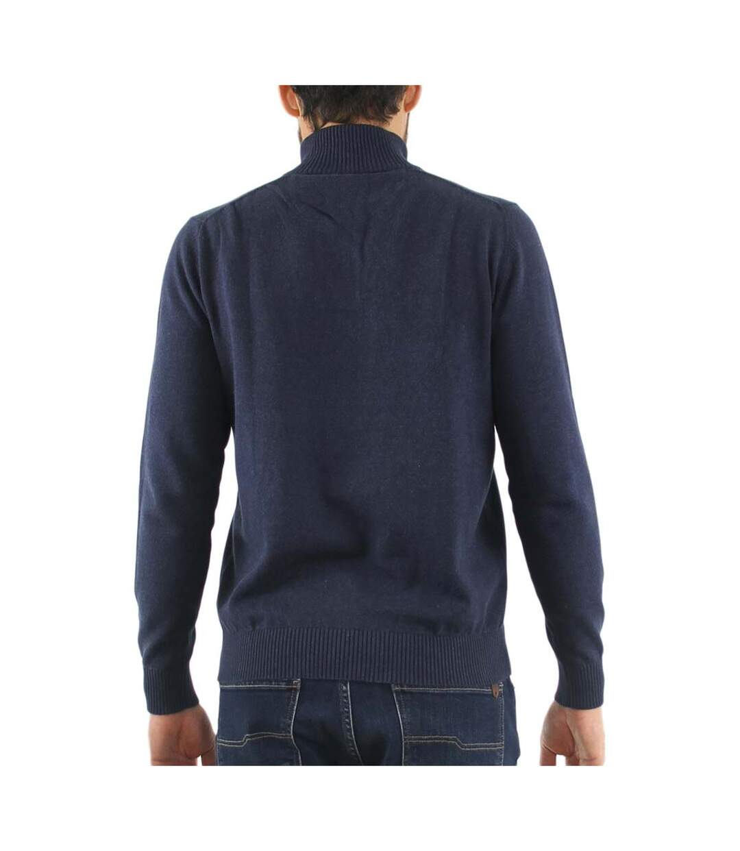 Pull col montant coton PAGO