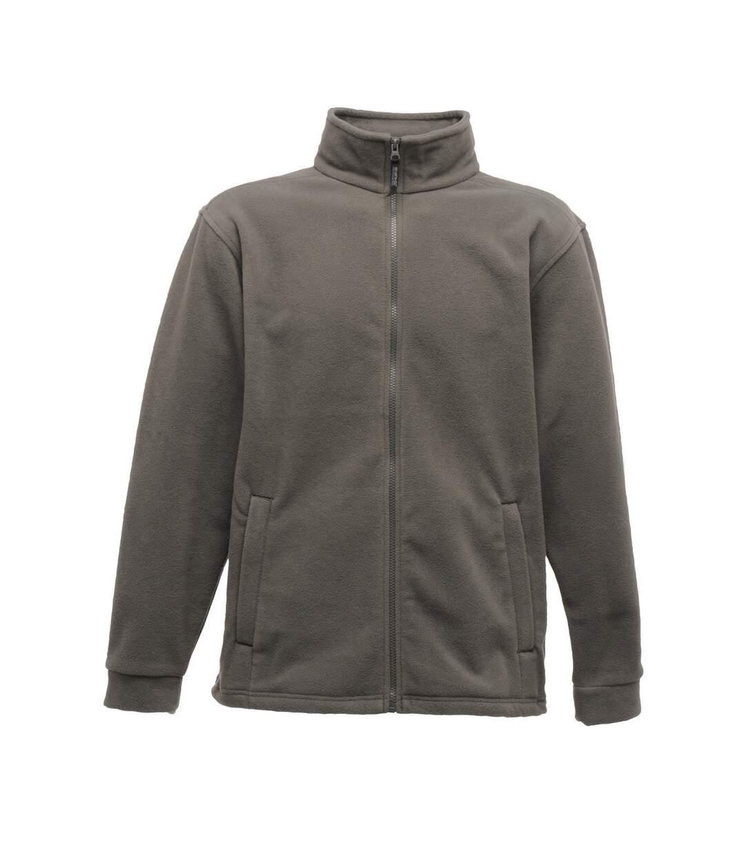 Regatta Mens Thor 300 Full Zip Fleece Jacket (Seal Grey) - UTRG1533
