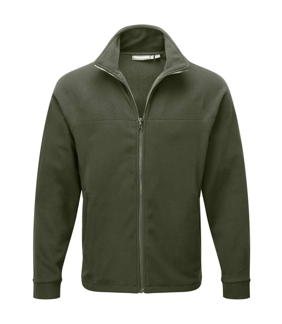 Craghoppers Mens Basecamp 200 IA Mid Weight Full Zip Fleece Jacket (Black) - UTRW365