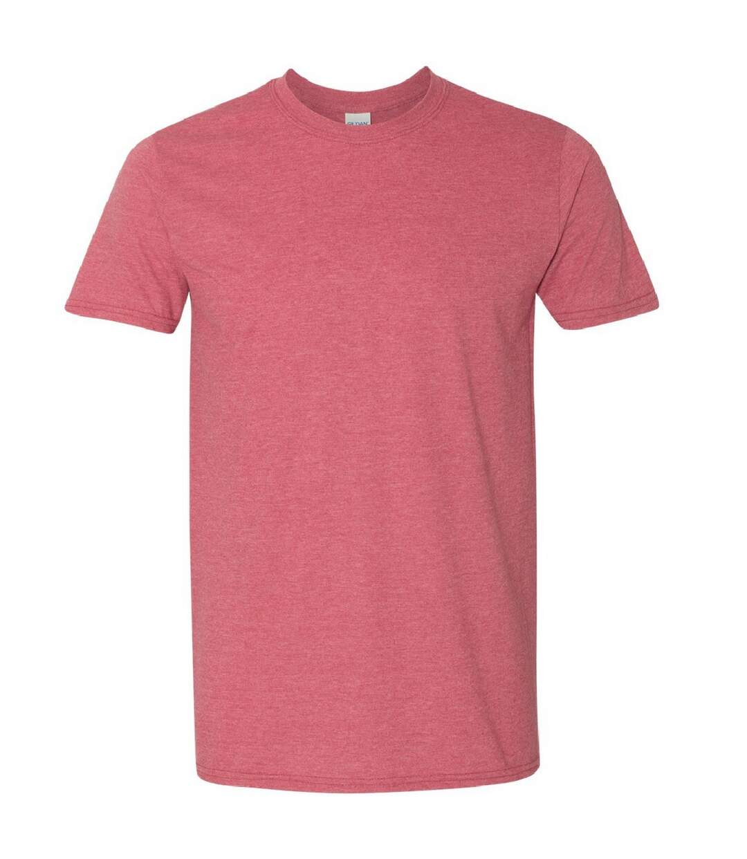 Gildan Mens Short Sleeve Soft-Style T-Shirt (Heather Cardinal) - UTBC484